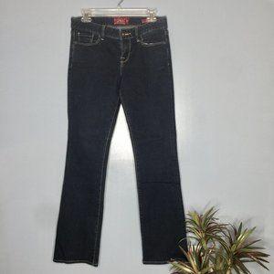 Lucky Brand Leyla Bootcut Dark Wash Jeans